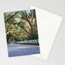 Old South Live Oaks Stationery Cards