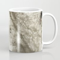 feather Mugs featuring feather by Ingrid Beddoes