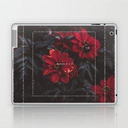 Romans 8:1-13 Laptop & iPad Skin