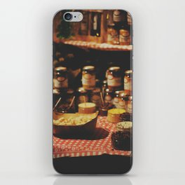 christmas market iPhone Skin