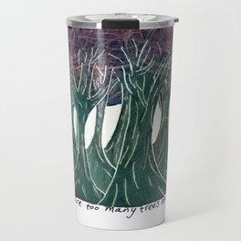 Night Trees, Inverse Travel Mug