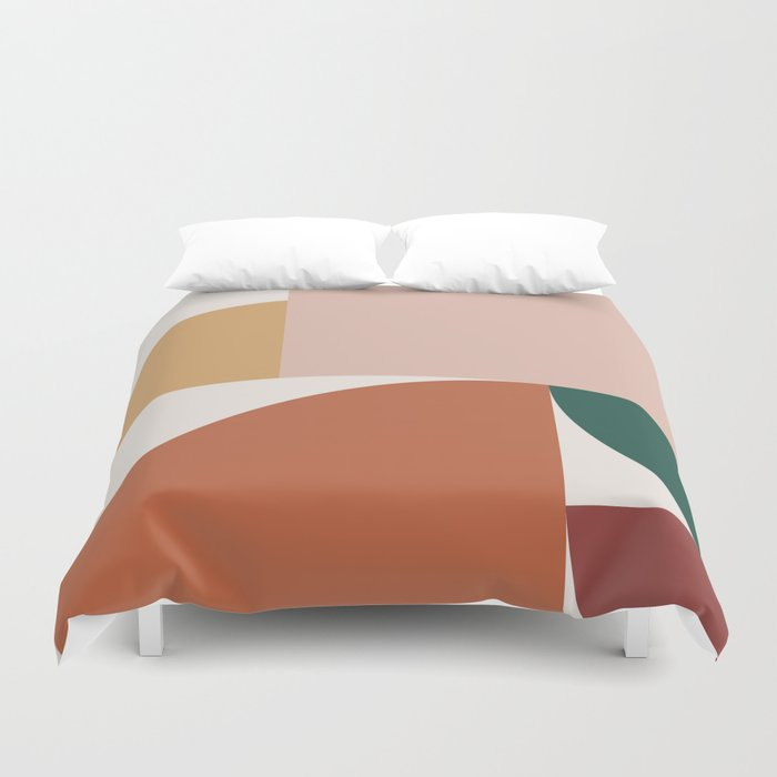 Abstract Geometric 10 Duvet Cover