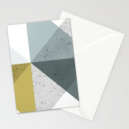 Modern Geometric 16 Stationery Cards