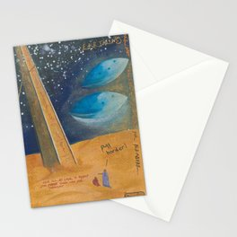 Earthlings BC - The First Vegan Messengers Stationery Cards