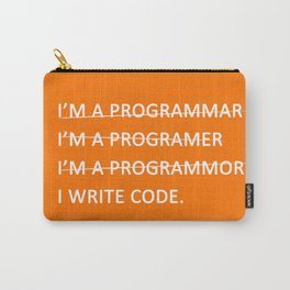 I write code Carry-All Pouch