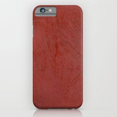 Tuscan Red Stucco - Rustic Glam iPhone 6s Slim Case