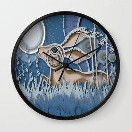 Rabbit Layer No. 2 Wall Clock