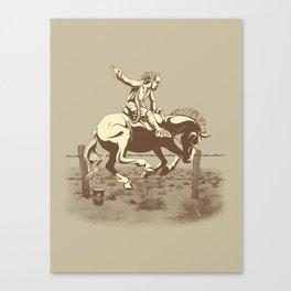 Dude Ranch Canvas Print