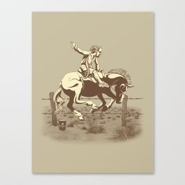 Dude Ranch Canvas Print