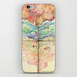 Where everything is music iPhone Skin