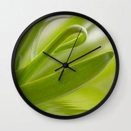 Green grass 261 Wall Clock