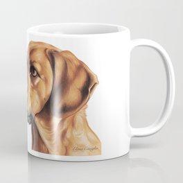 Dog Artwork in coloured pencil Coffee Mug