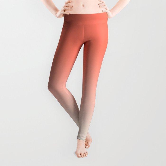 Coral to Peach Leggings