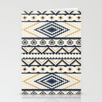 aztec Stationery Cards featuring AZTEC by Oksana Smith