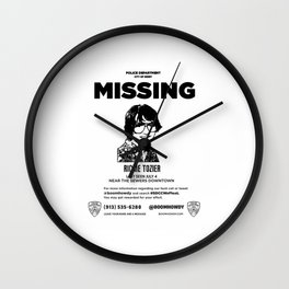 missing richie tozier Wall Clock