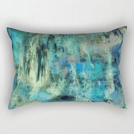 Emerald Bog or Ever Rectangular Pillow
