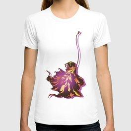 Autumn Sycamore Leaf T-shirt