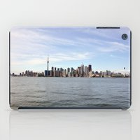 toronto iPad Cases featuring Toronto by Angela Fang