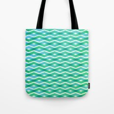 Diamonds in the sea Tote Bag