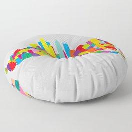 New WTC Isometric Floor Pillow