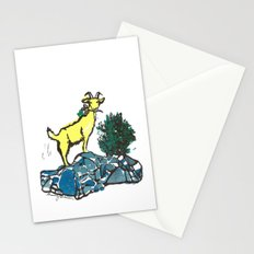 Goatie McGoatersons (colored version) Stationery Cards