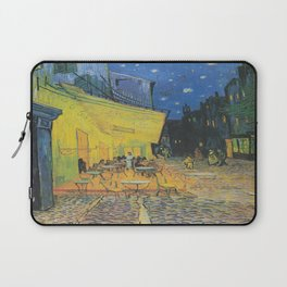 Vincent can Gogh's Cafe Terrace at Night Laptop Sleeve