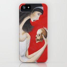 Saying Good Bye iPhone Case