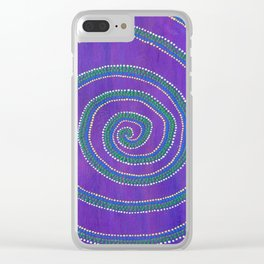 Sprial Clear iPhone Case