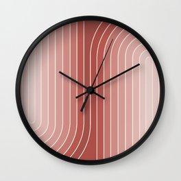 Gradient Curvature VI Wall Clock