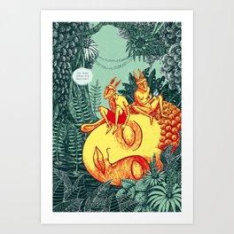 Traumzeit Art Print