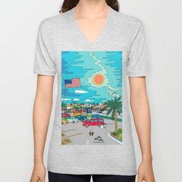Orlando Sunrise Unisex V-Neck