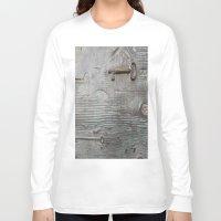 key Long Sleeve T-shirts featuring key by Joan-Ma Espinosa
