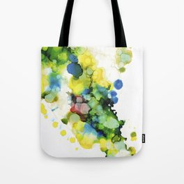 Aerial Jungle Tote Bag