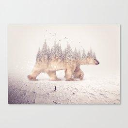 polar winter II Canvas Print