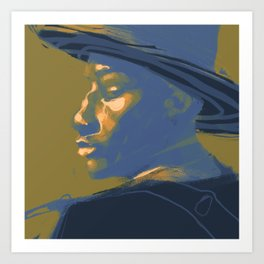 Leon Bridges Art Print