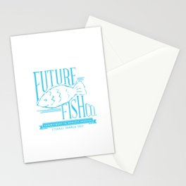 FUTURE FISH CO. Stationery Cards