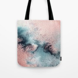 Pink and Blue Oasis Tote Bag