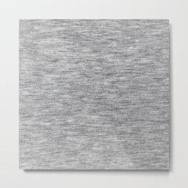 Light athletic grey shirt pattern Metal Print