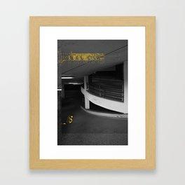 Yellow City 05 Framed Art Print