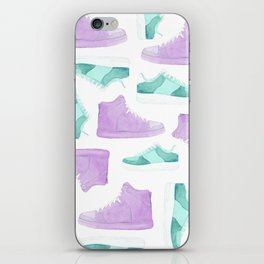WATER, COLORS AND SNEAKERS iPhone Skin