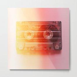 Cassette#exposure#film#effect Metal Print