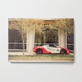 """McLaren 650S """"Ayrton Senna"""" Metal Print"""