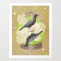 """Birds"" Art Print"