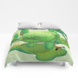 The Topiary Dog Comforters