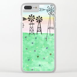 skyscapes 11 Clear iPhone Case