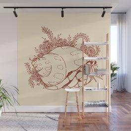 Hermit Crab Wall Mural