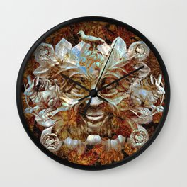 Jack In the Green (Autumn Leaves) Wall Clock