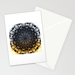 Touch of golden glow Stationery Cards