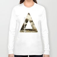 bastille Long Sleeve T-shirts featuring Bastille - Skulls by Thafrayer