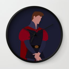 Prince Phillip (Formal) Wall Clock